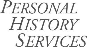 PERSONAL   HISTORY   SERVICES